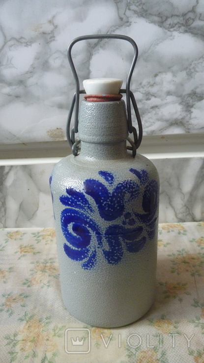 Бутылка керамика.Германия. 0.5л, фото №6