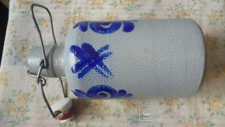 Бутылка керамика.Германия. 0.5л, фото №8