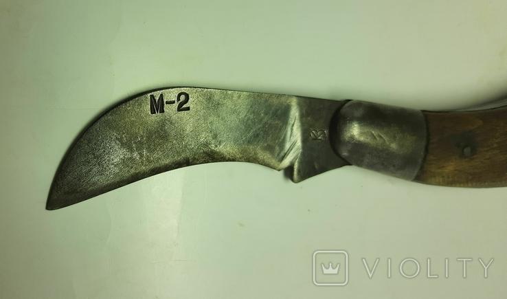 Нож складной М-2, фото №4