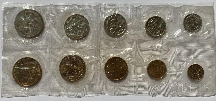 Годовой набор монет СССР 1967 года ЛМД в запайке, фото №2