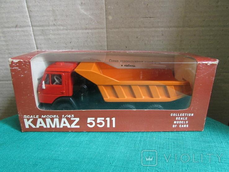 Камаз-5511, фото №2