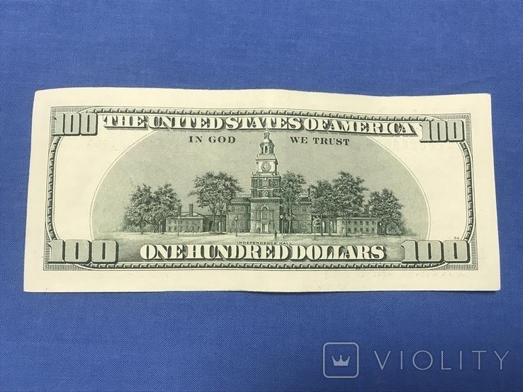 100 долларов США КВ28888803F, фото №4