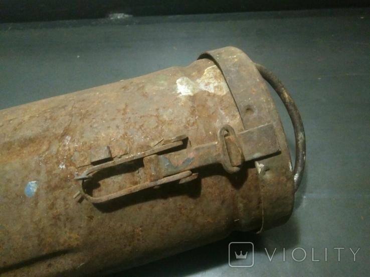 Тубус от немецкого снаряда, фото №3