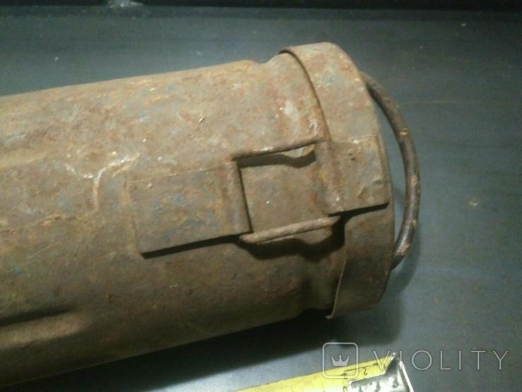 Тубус от немецкого снаряда, фото №5