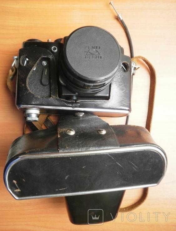 Фотоаппарат Зенит , объектив Гелиос, фото №2