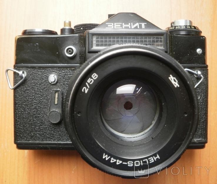 Фотоаппарат Зенит , объектив Гелиос, фото №6
