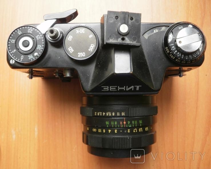 Фотоаппарат Зенит , объектив Гелиос, фото №7