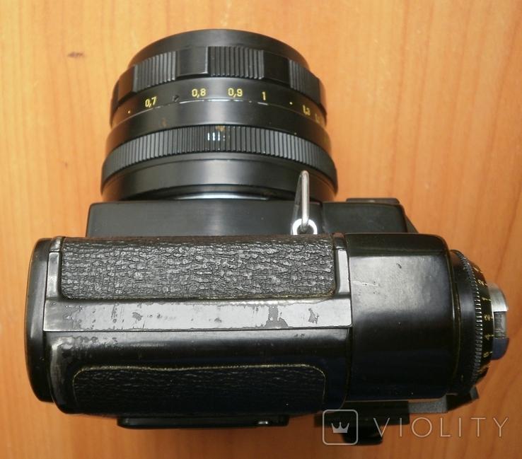 Фотоаппарат Зенит , объектив Гелиос, фото №8
