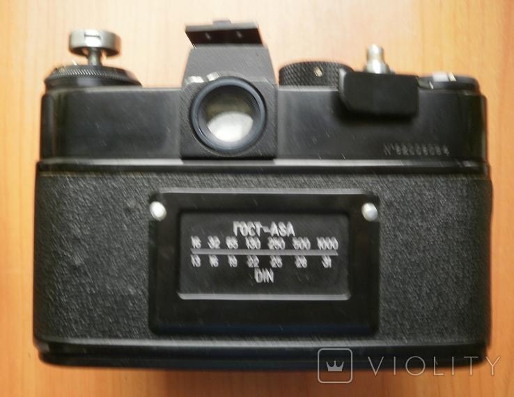 Фотоаппарат Зенит , объектив Гелиос, фото №12