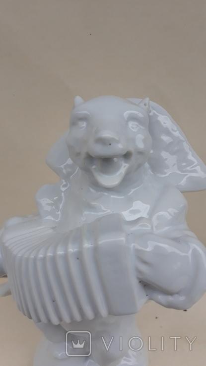 Медведь с гармошкой., фото №7