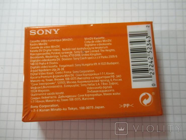 Кассета SONY DV premium, фото №6
