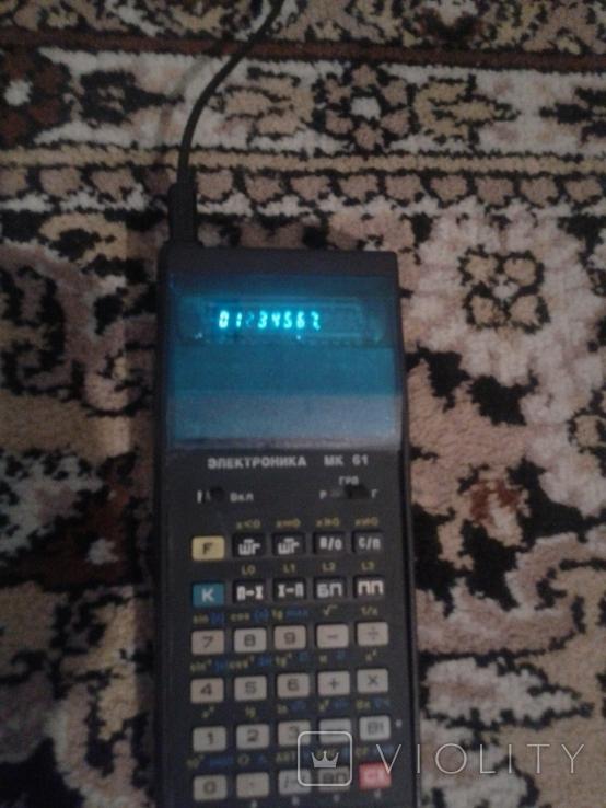 """Радянський мікрокалькулятор """"Електроніка МК 61""""., фото №4"""
