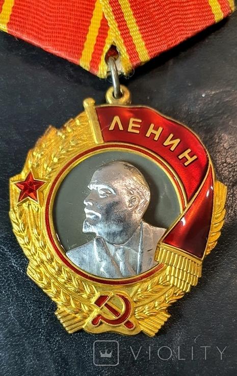 Орден Ленина. золото 950, платина., фото №2