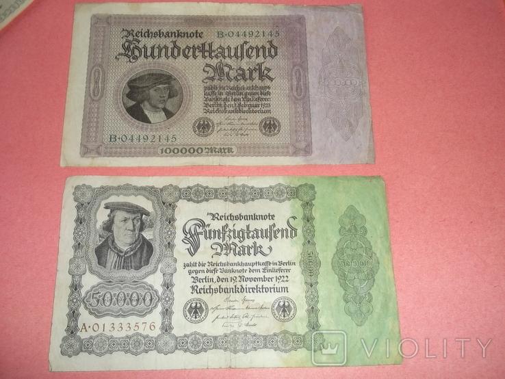 29 банкнот Германии. Довоенные., фото №4