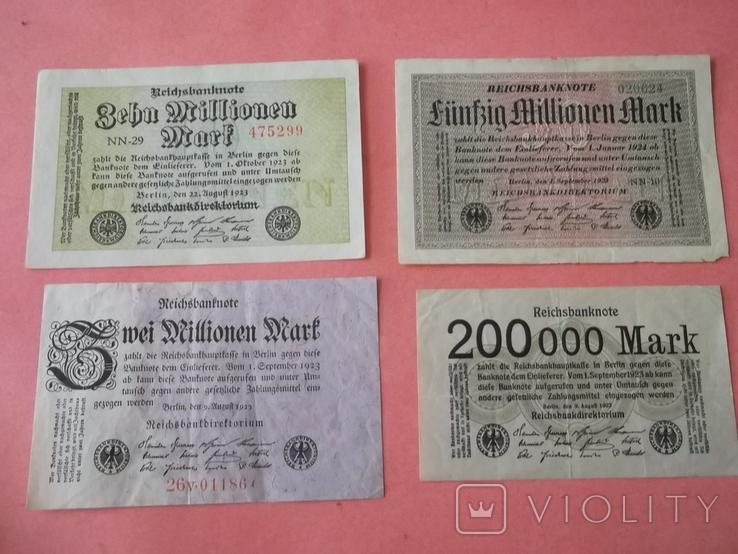 29 банкнот Германии. Довоенные., фото №5