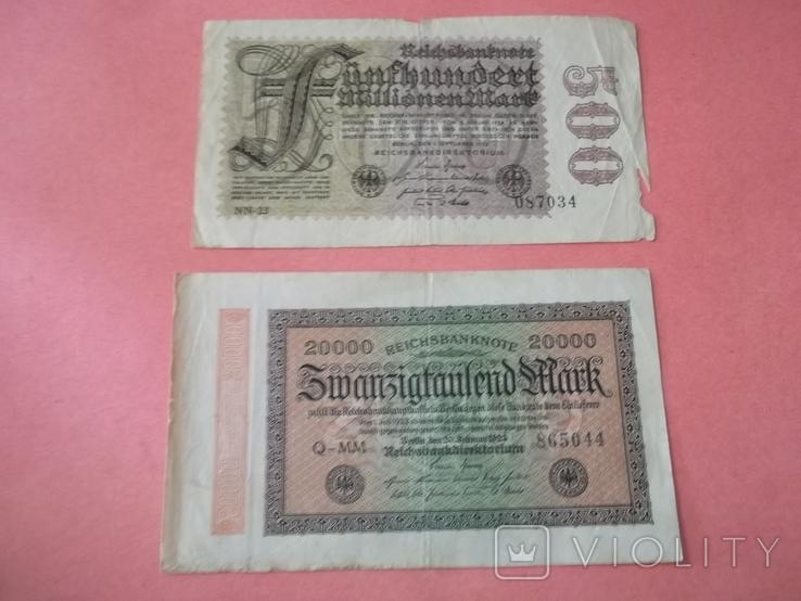 29 банкнот Германии. Довоенные., фото №13
