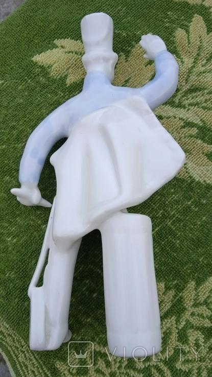 Гусар фарфор статуэтка Коростень Трегубова В.М, фото №4