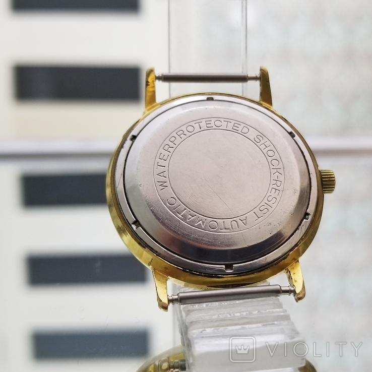 Позолоченные часы Полет де Люкс 29 камней Автоподзавод ау20 СССР (на ходу), фото №8