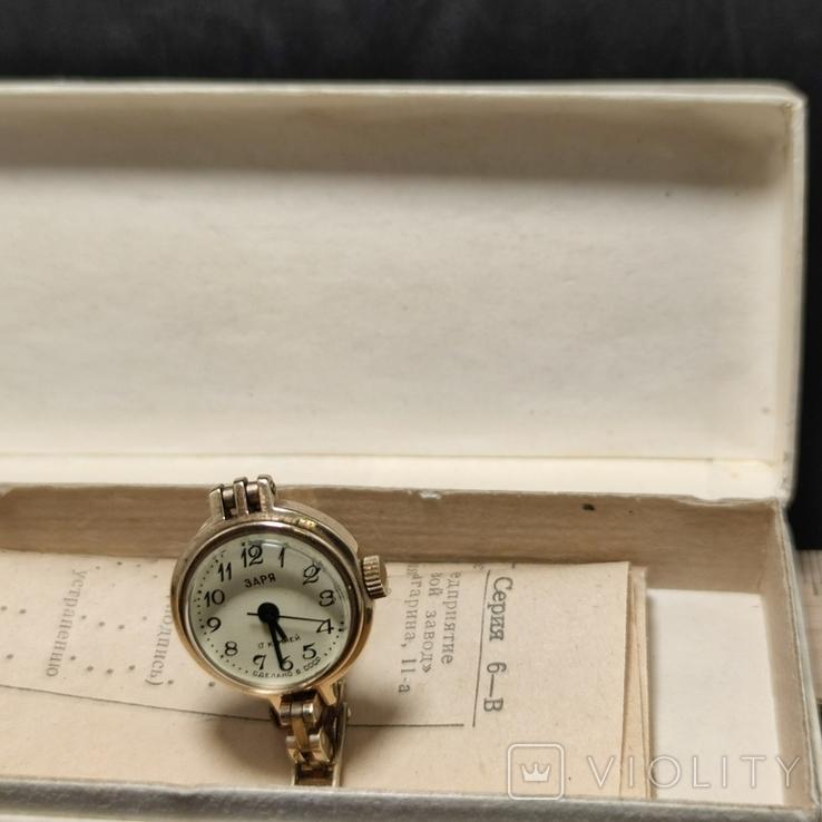 Часы заря в коробке, фото №9