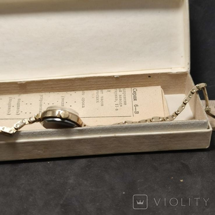 Часы заря в коробке, фото №11