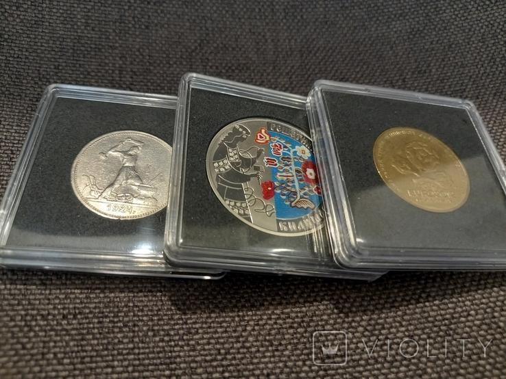 Капсула для монет квадратная ETALONPLUS+ (26 мм), фото №4