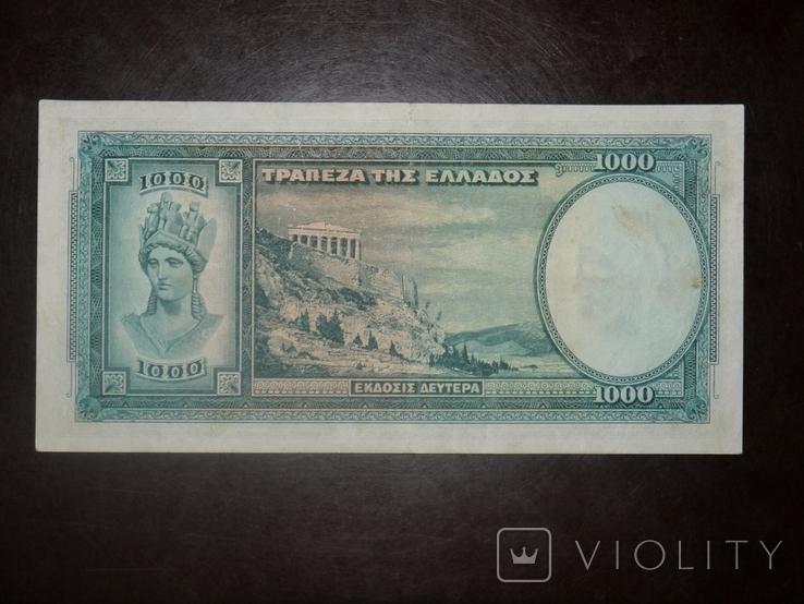 Греция 1000 1939, фото №3