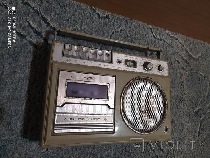 Магнитофон Электроника 302-2., фото №4