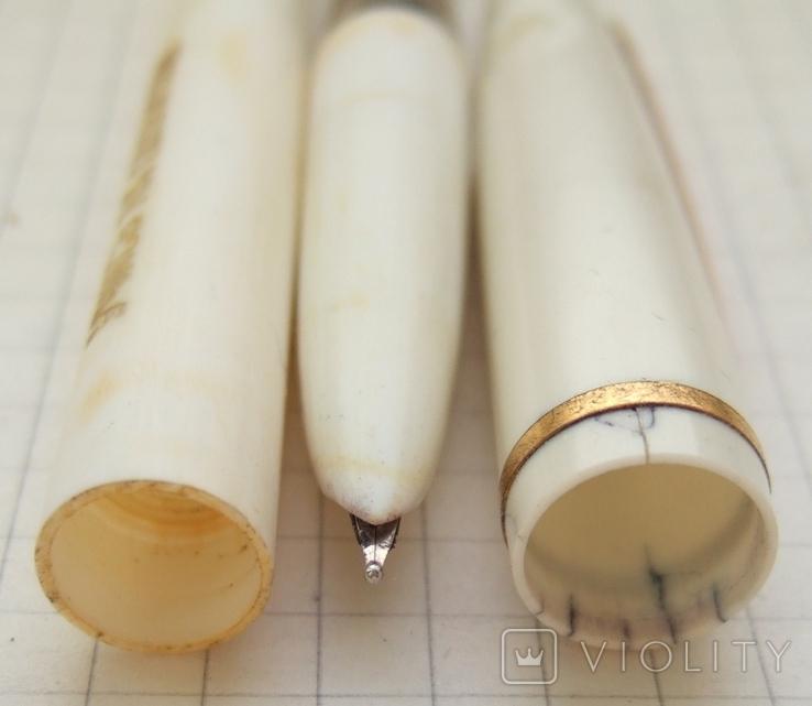 """Перьевая ручка АР-19 """"Учись на отлично"""". Пишет мягко, тонко и насыщенно, фото №6"""