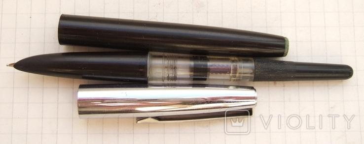 Перьевая ручка АР-19 МЗПП. Пишет мягко, тонко и насыщенно., фото №4