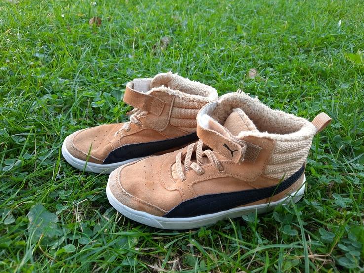 Дитячі демісезонні кросівки Puma, фото №2
