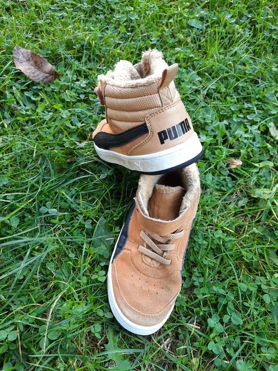 Дитячі демісезонні кросівки Puma, фото №8