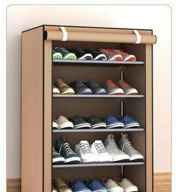 Тканевый шкаф для обуви В5 TV10027 (60х30х90 см), фото №2