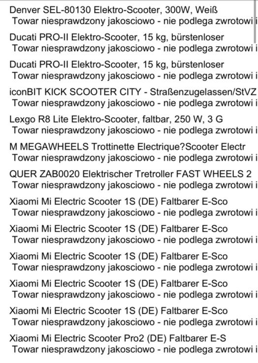 Палет електросамокатів 13шт., фото №2