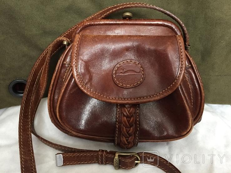 Кожаная сумка borella, фото №2