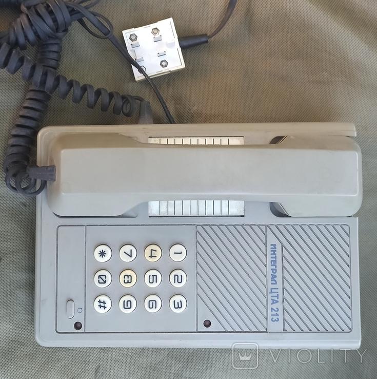 Телефон Интеграл ЦТА 213, фото №4