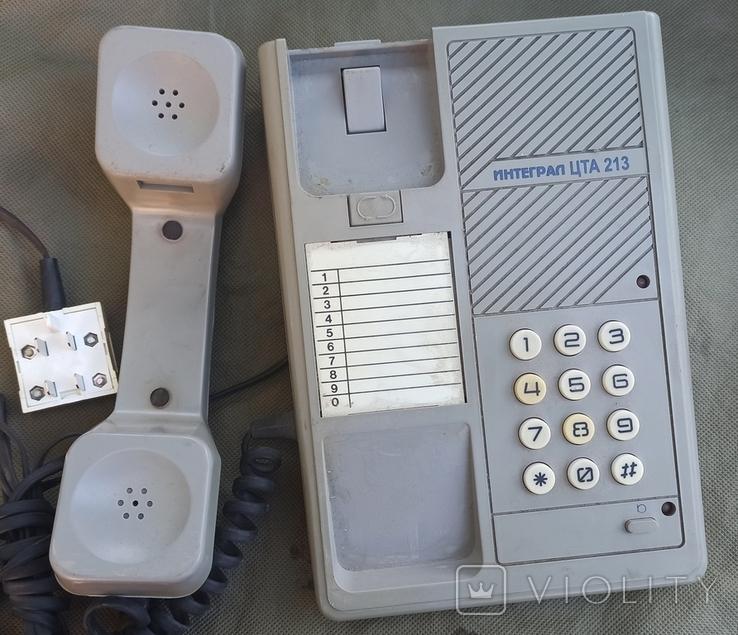Телефон Интеграл ЦТА 213, фото №2