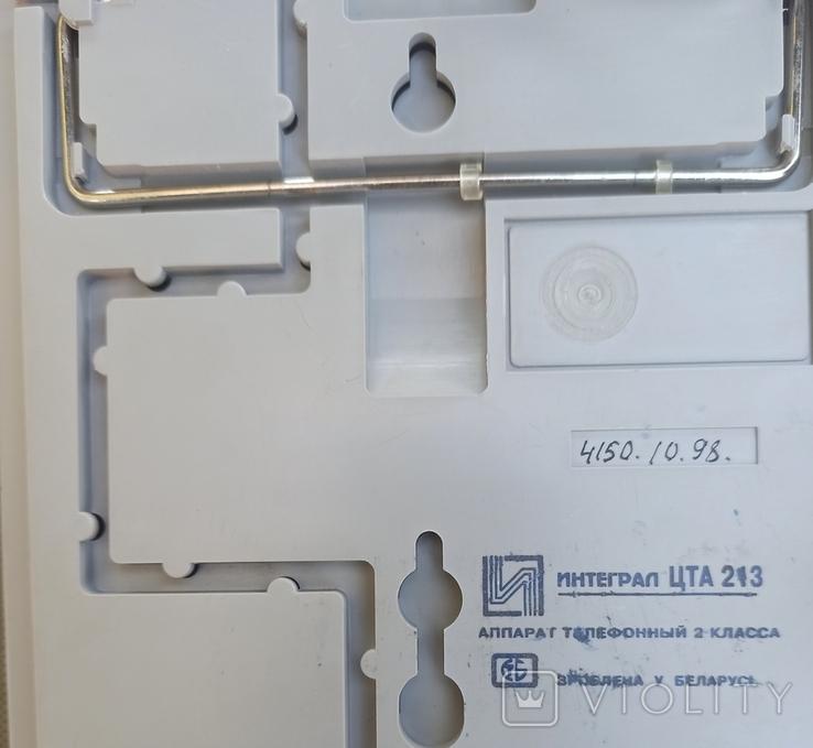 Телефон Интеграл ЦТА 213, фото №8