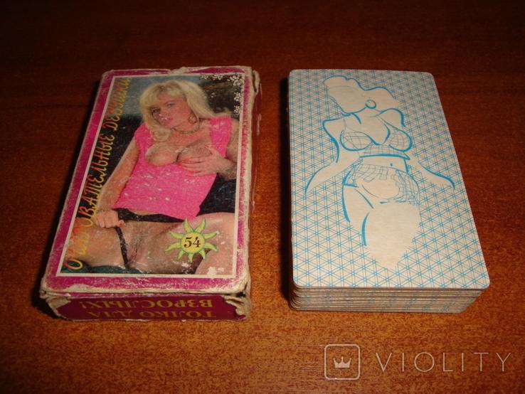 Игральные карты Очаровательные девушки, фото №2