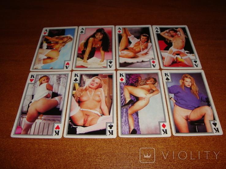 Игральные карты Очаровательные девушки, фото №3