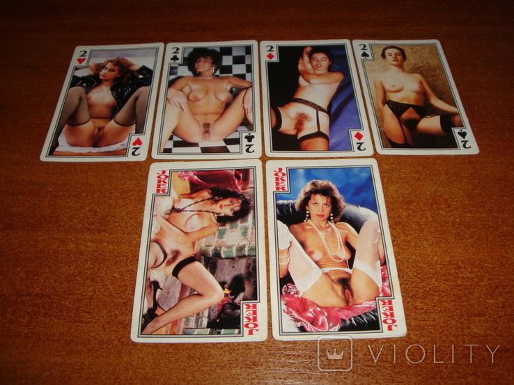 Игральные карты Очаровательные девушки, фото №8
