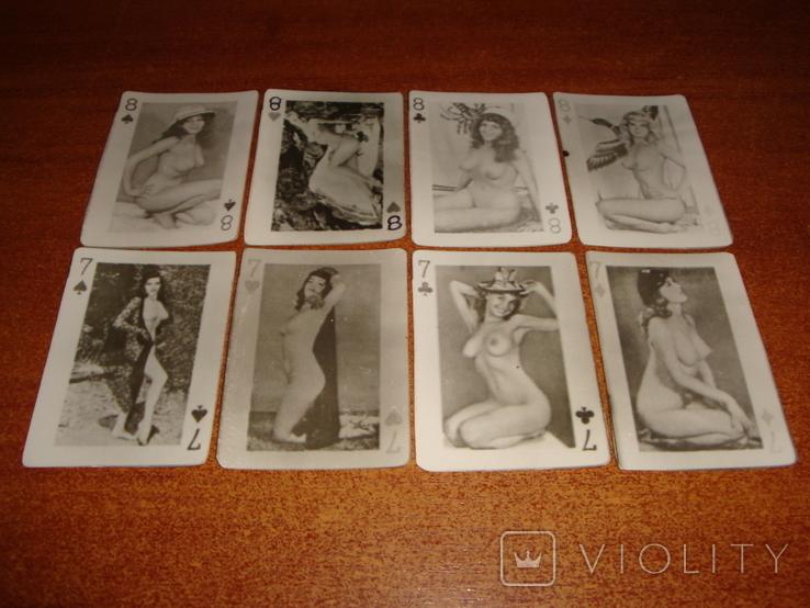 Игральные карты Модели, фото №5
