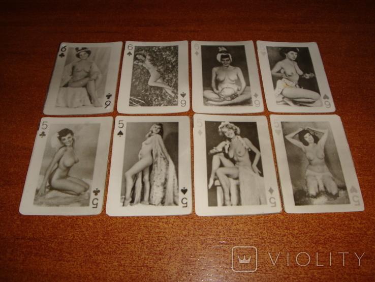 Игральные карты Модели, фото №6