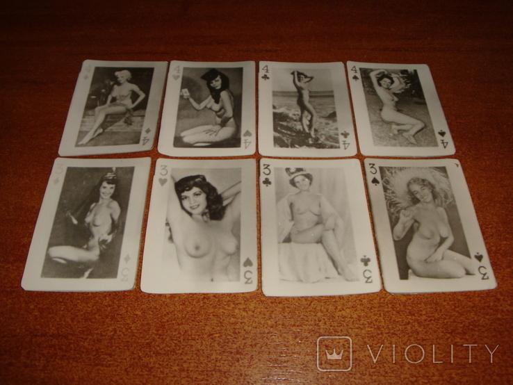Игральные карты Модели, фото №7