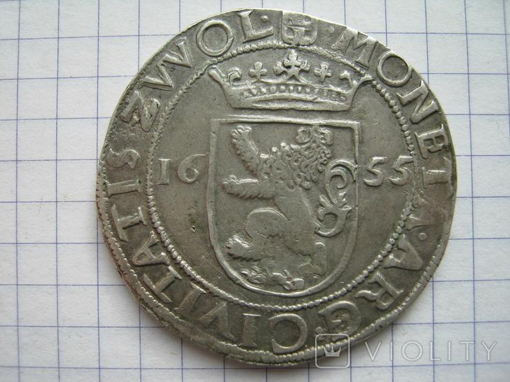 Талер 1655 Цволле, фото №3