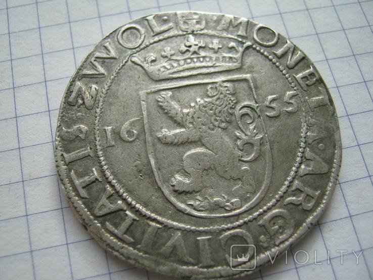 Талер 1655 Цволле, фото №5