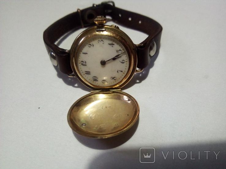 Часы Золото 587 проба (585), фото №3
