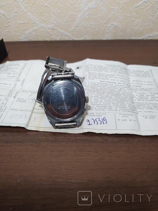 Часы Слава 26 камней, фото №3