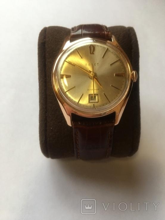 Золотые часы Полет, фото №5