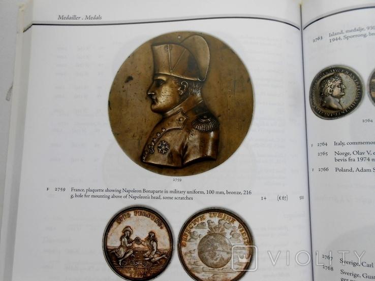 2008 г. Аукционник Thomas Hoiland Montauktion Монеты Награды 320 стр. Тираж ? (2000), фото №13