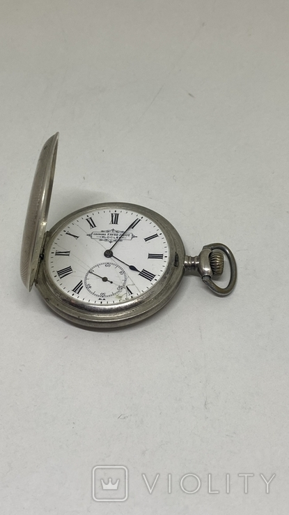 Часы карманные серебро 84пр, фото №4